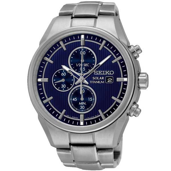 Seiko SSC365P1 titanium solar horloge - Officiële Seiko dealer - Topdealer