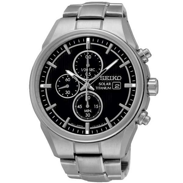 Seiko SSC367P1 titanium solar horloge - Officiële Seiko dealer - Topdealer