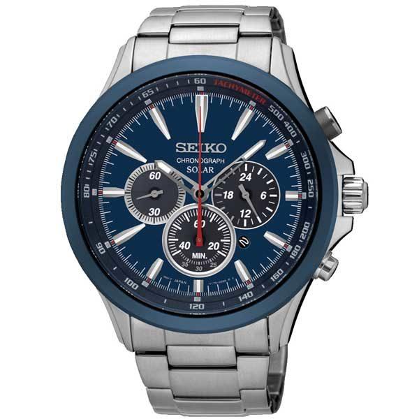 Seiko SSC495P1 solar horloge - Officiële Seiko dealer - Topdealer