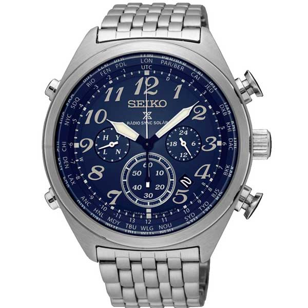 Seiko SSG011P1 solar horloge - Officiële Seiko dealer - Solar Seiko
