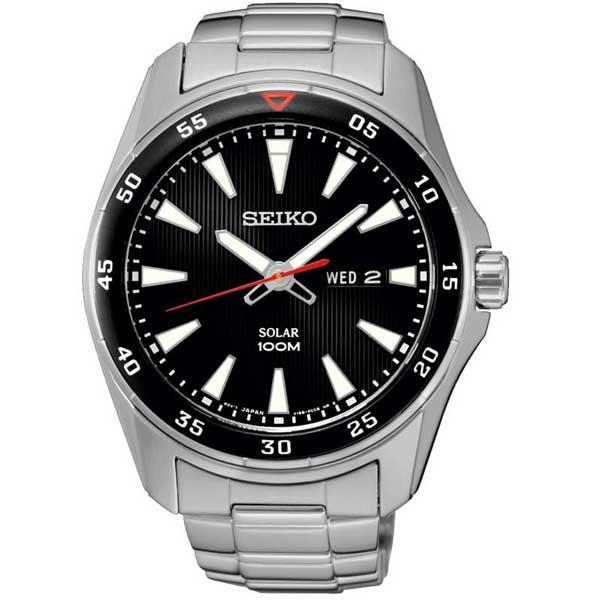 Seiko SNE391P1 solar horloge - Officiële Seiko dealer - Topdealer