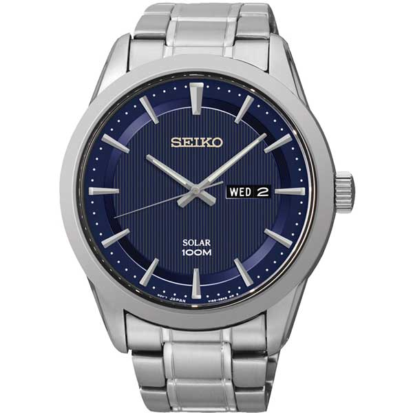 Seiko SNE361P1 solar horloge - Officiële Seiko dealer - Topdealer