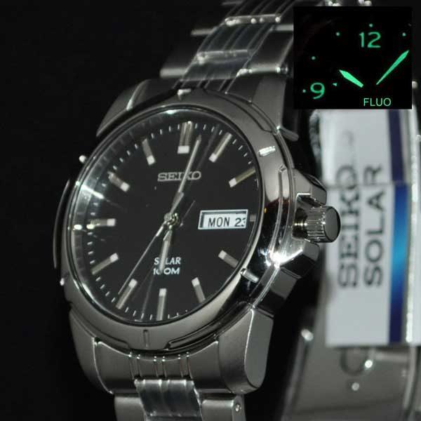 Seiko SNE093P1 solar horloge - Officiële Seiko dealer