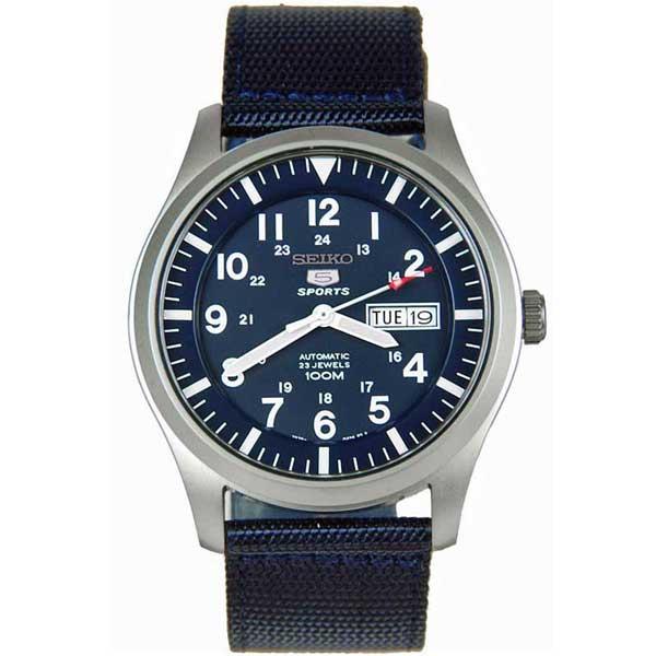 Seiko SNZG11K1 automaat horloge - Officiële Seiko dealer - Topdealer
