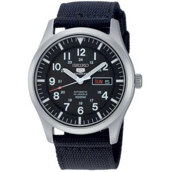 Seiko SNZG15K1 automaat horloge - Officiële Seiko dealer - Topdealer