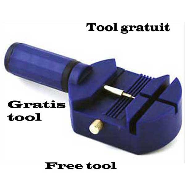 Gratis tool om de horlogeband op maat te maken