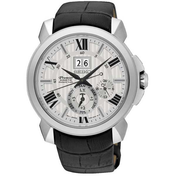Seiko SNP143P1 Kinetic horloge - Officiële Seiko dealer - SNP143P1
