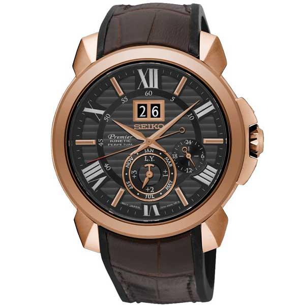 Seiko SNP146P1 Kinetic horloge - Officiële Seiko dealer - SNP146P1