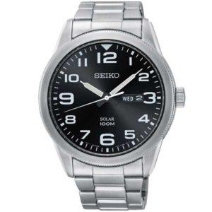Seiko SNE471P1 solar horloge - Officiële Seiko dealer - SNE471P1