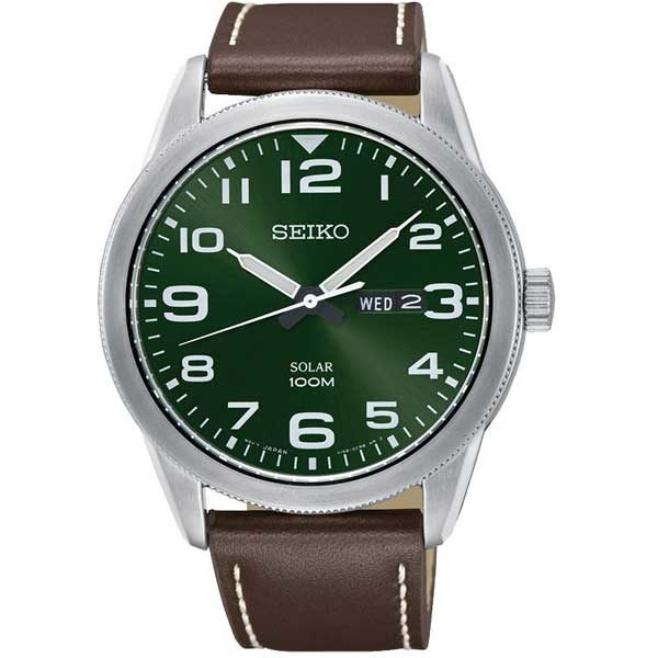 Seiko SNE473P1 solar horloge - Officiële Seiko dealer - SNE473P1