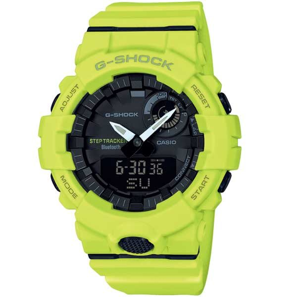 Bluetooth Casio G-Shock GBA-800-9AER horloge - Casio webwinkel