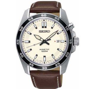 Seiko SKA787P1 Kinetic horloge - Officiële Seiko dealer - SKA787P1